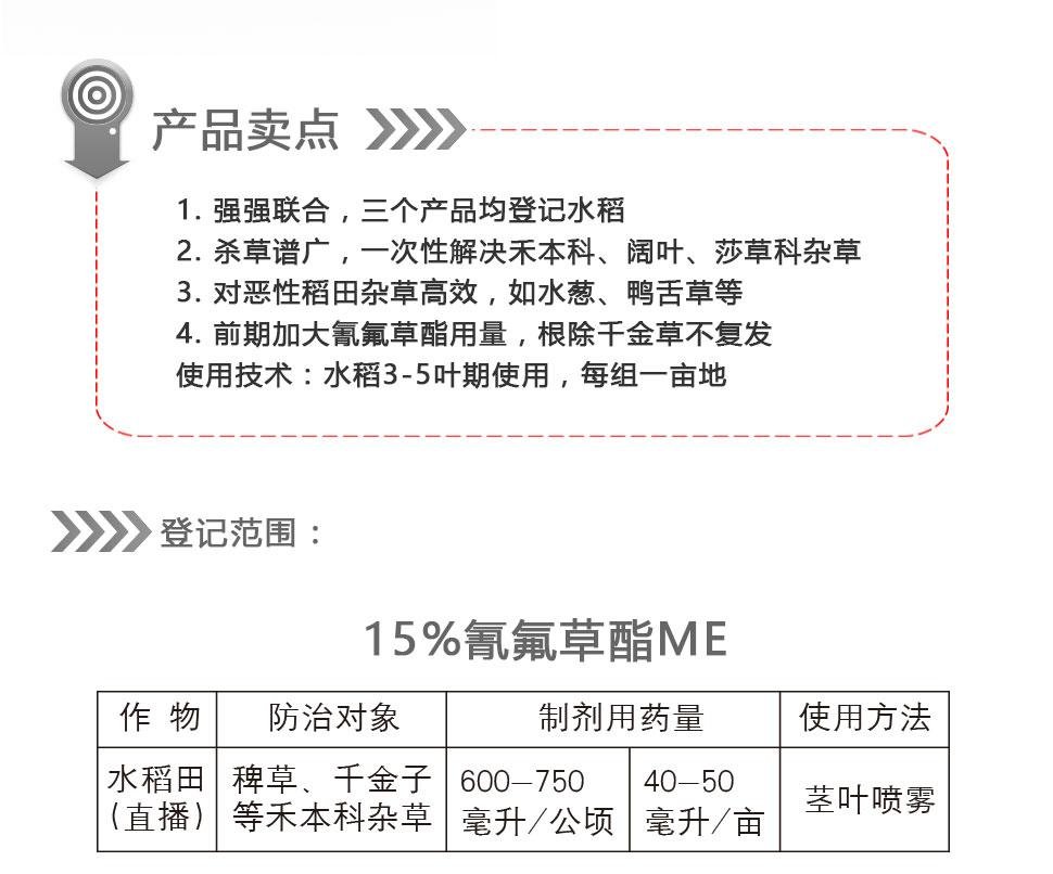 佼佼者+施尔隆+85%2甲4氯钠SP
